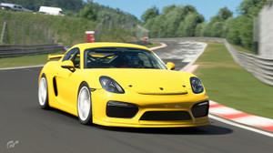 ポルシェ ケイマン GT4 Clubsport '16
